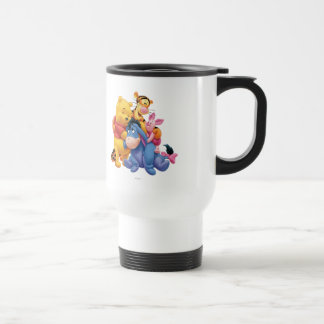 Pooh & Friends 5 Stainless Steel Travel Mug