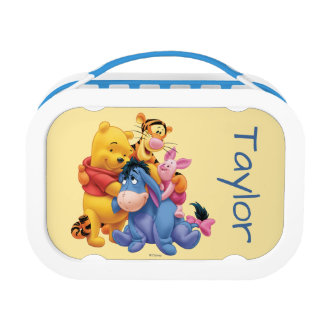 Pooh & Friends 5 - Personalized Lunch Box