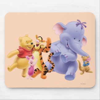 Pooh & Friends 6 Mouse Pad
