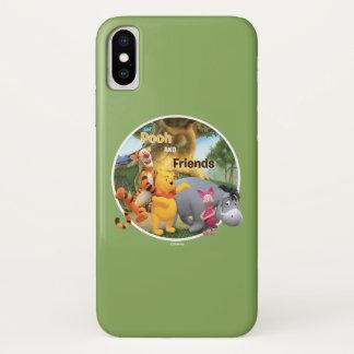 Pooh & Friends 9 iPhone X Case