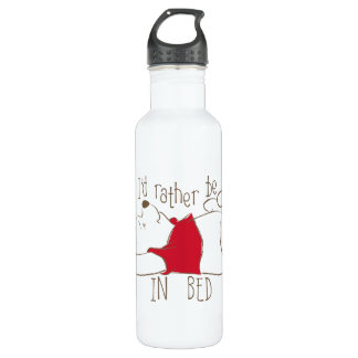 Pooh   I'd Rather Be in Bed 710 Ml Water Bottle