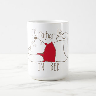 Pooh | I'd Rather Be in Bed Coffee Mug