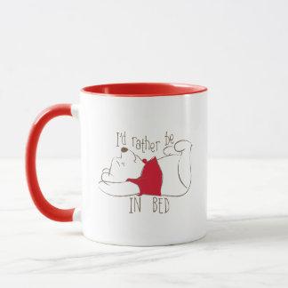 Pooh | I'd Rather Be in Bed Mug