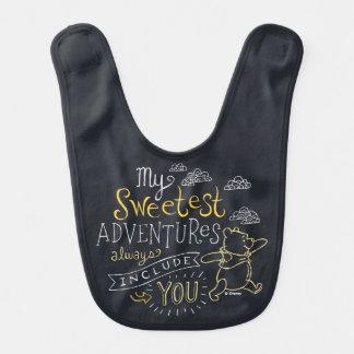 Pooh | My Sweetest Adventures Bib