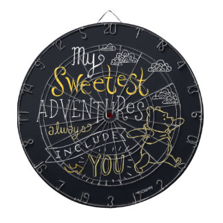 Pooh | My Sweetest Adventures Dart Boards