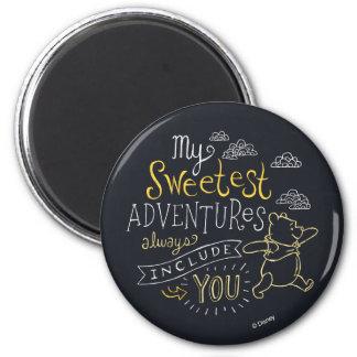 Pooh | My Sweetest Adventures Magnet