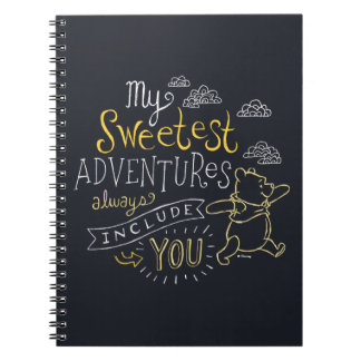 Pooh | My Sweetest Adventures Notebooks