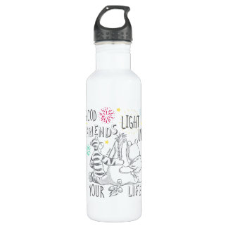 Pooh & Pals   Friends Light Up Your Life 710 Ml Water Bottle