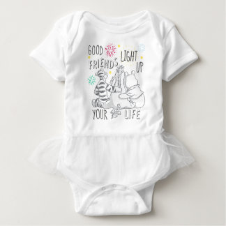 Pooh & Pals | Friends Light Up Your Life Baby Bodysuit