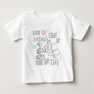 Pooh & Pals | Friends Light Up Your Life Baby T-Shirt