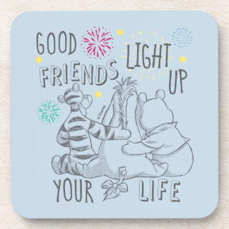 Pooh & Pals | Friends Light Up Your Life Coaster