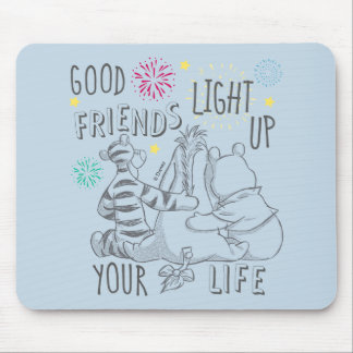 Pooh & Pals | Friends Light Up Your Life Mouse Pad