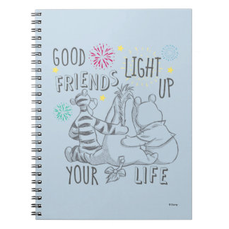 Pooh & Pals | Friends Light Up Your Life Notebooks