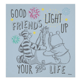 Pooh & Pals | Friends Light Up Your Life Poster