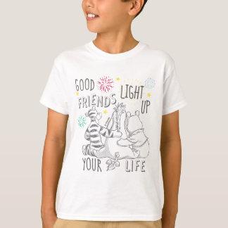 Pooh & Pals | Friends Light Up Your Life T-Shirt