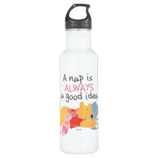 Pooh & Piglet   A Nap is Always a Good Idea 710 Ml Water Bottle