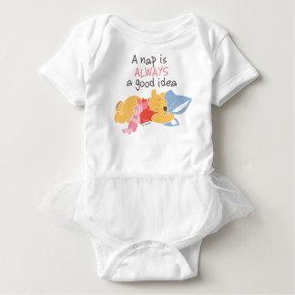 Pooh & Piglet | A Nap is Always a Good Idea Baby Bodysuit