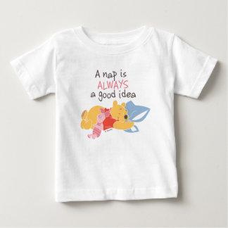 Pooh & Piglet | A Nap is Always a Good Idea Baby T-Shirt