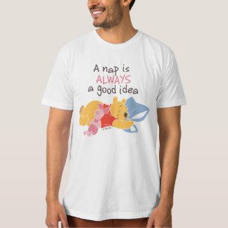 Pooh & Piglet   A Nap is Always a Good Idea T-Shirt