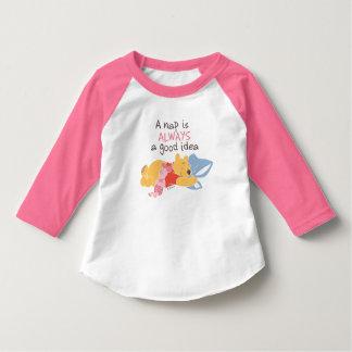 Pooh & Piglet | A Nap is Always a Good Idea T-Shirt