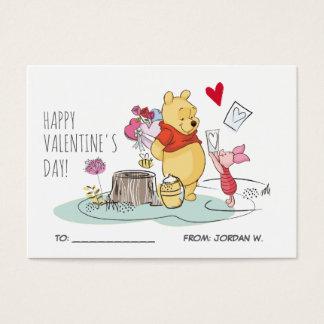 Pooh & Piglet | Valentine's Day 100pk Card