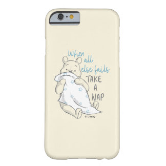Pooh   Take a Nap Quote Barely There iPhone 6 Case