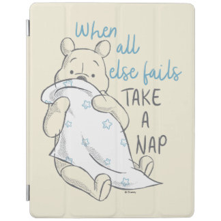 Pooh | Take a Nap Quote iPad Cover
