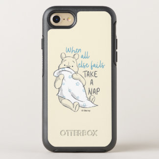 Pooh | Take a Nap Quote OtterBox Symmetry iPhone 8/7 Case
