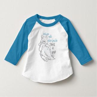 Pooh | Take a Nap Quote T-Shirt