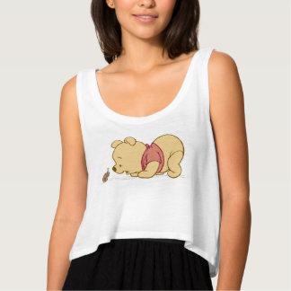 Pooh Talking to a Ladybug Disney Tank Top