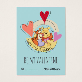 Pooh & Tigger | Be My Valentine 100pk Card