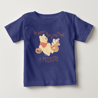 Pooh & Tigger | Support Quote Baby T-Shirt