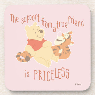 Pooh & Tigger | Support Quote Coaster