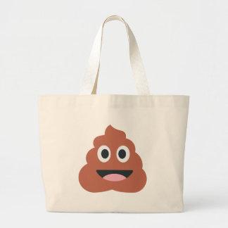 Pooh Twitter Emoji Large Tote Bag