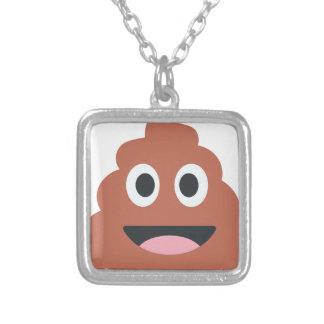 Pooh Twitter Emoji Silver Plated Necklace