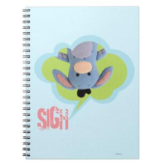 Pook-a-Looz Eeyore 3 Notebooks