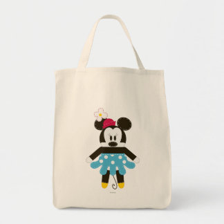 Pook-a-Looz Minnie | Blue Dress Tote Bag