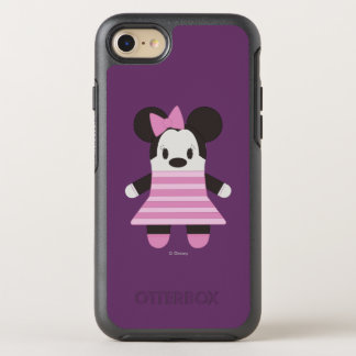 Pook-a-Looz Minnie | Pink Stripes Dress OtterBox Symmetry iPhone 7 Case