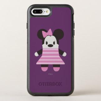 Pook-a-Looz Minnie   Pink Stripes Dress OtterBox Symmetry iPhone 7 Plus Case