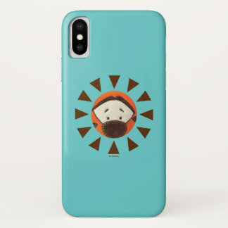 Pook-a-Looz Tigger Peeking iPhone X Case