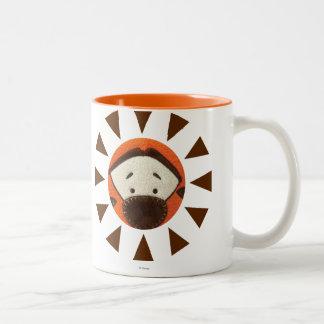 Pook-a-Looz Tigger Peeking Two-Tone Coffee Mug