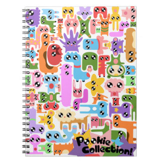 Pookie Puzzle Spiral Notebook