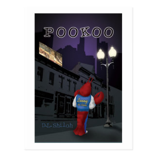 Pookoo postcard