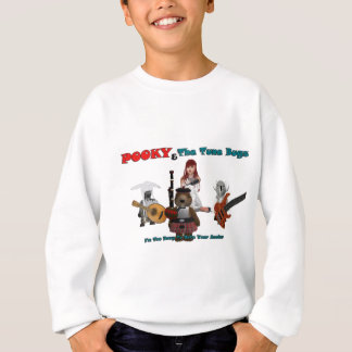 pooky and the tune bugs-1-1 sweatshirt