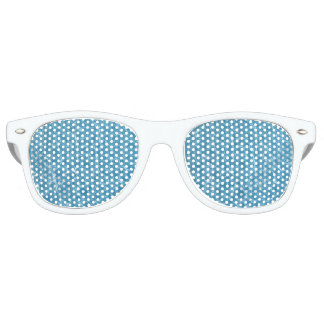 Pool Adult Retro Party Shades, White Party Sunglasses