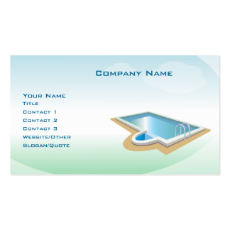 Pool and Spa Business Cards