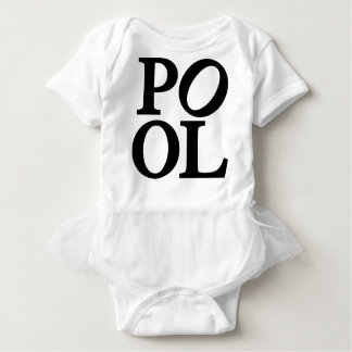 pool baby bodysuit