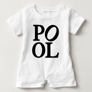 pool baby romper