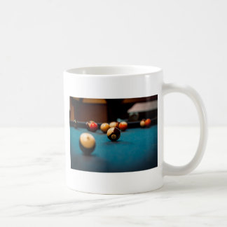 Pool Ball Table Coffee Mug