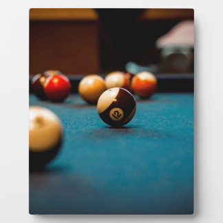 Pool Ball Table Plaque